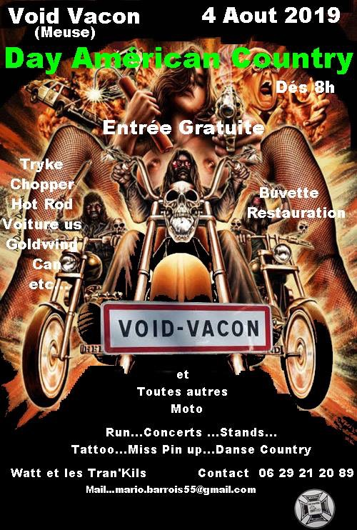 MANIFESTATION - Day Américan Country - 4 Aout 2019 - VOID - VACON 15489511
