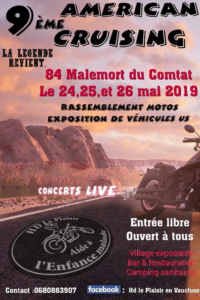 Américan Cruising - 24 - 25 - & 26 Mai 2019 - Malemort du Combat (84) 15515110