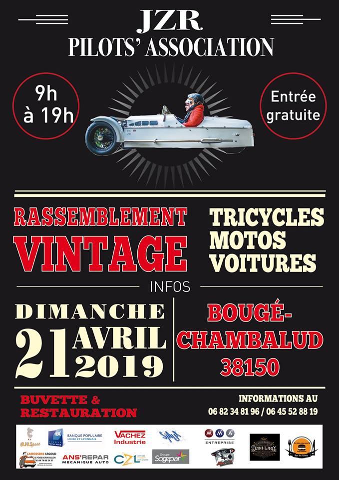 Rassemblement Vintage - Dimanche 21 Avril 2019- Bougé-Chambalud  (38150) 15517210