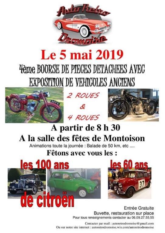 MANIFESTATION - Bourse - 5 Mai 2019 - Montoison  15523811