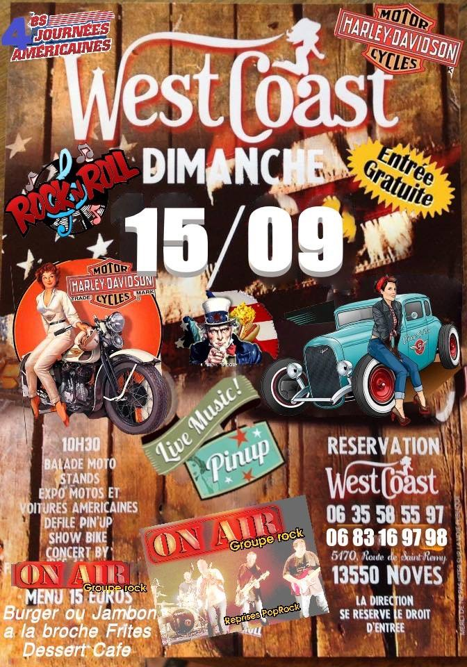 MANIFESTATION - West Coast - Dimanche 15 Septembre 2019 - Noves (13550) 15556910