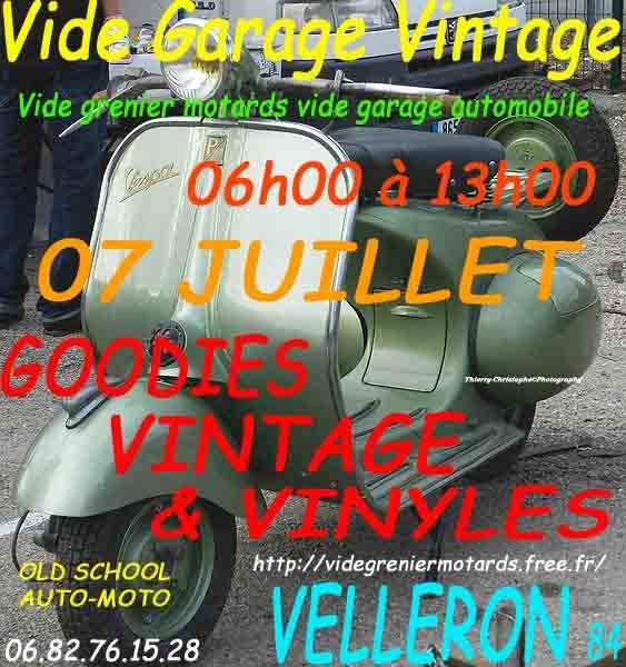 MANIFESTATION - Vide Garage Vintage - 7 Juillet 2019 - Velleron (84) 15578410