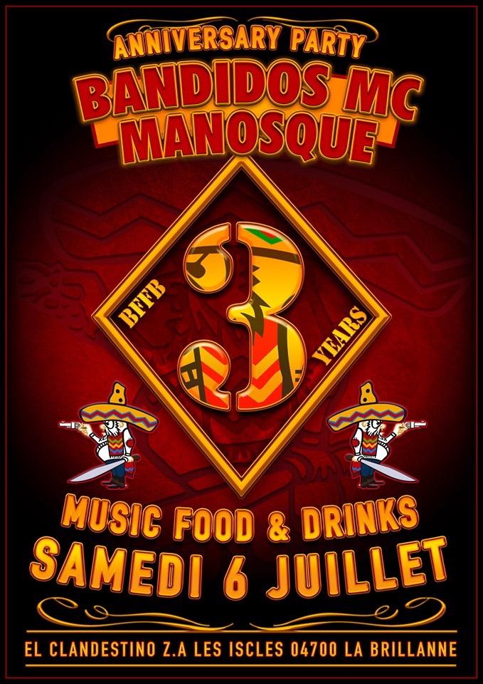 MANIFESTATION - Anniversary Party - Samedi 6 Juillet 2019 - LES ISCLES (04700) La Brillanne 15580210