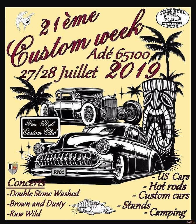 MANIFESTATION - Custom Week - 27 & 28 Juillet 2019 - Adé (65100) 15592510