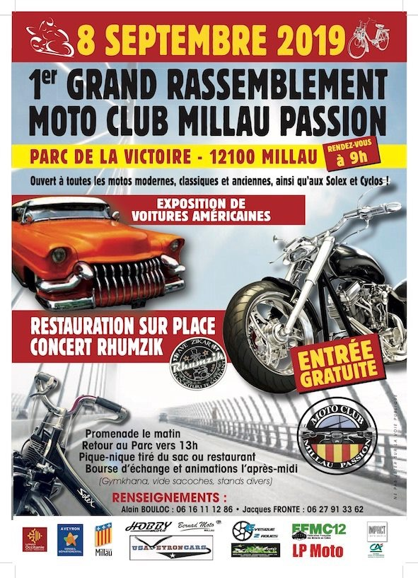 MANIFESTATION - Rassemblement - 8 Septembre 2019 - Millau (12100) 15615710