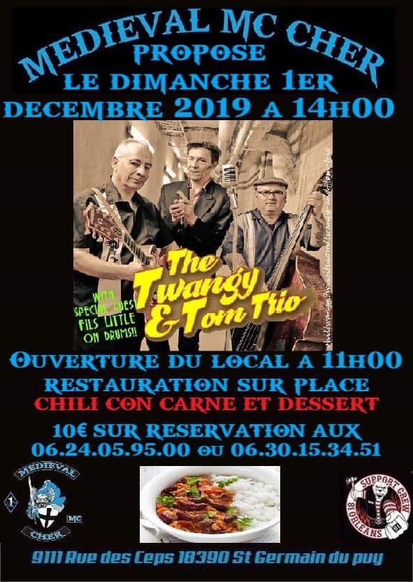 MANIFESTATION  - MEDIEVAL MC CHER - 1efr Décembre 2019 - St Germain du Puy- (18390) 15733310