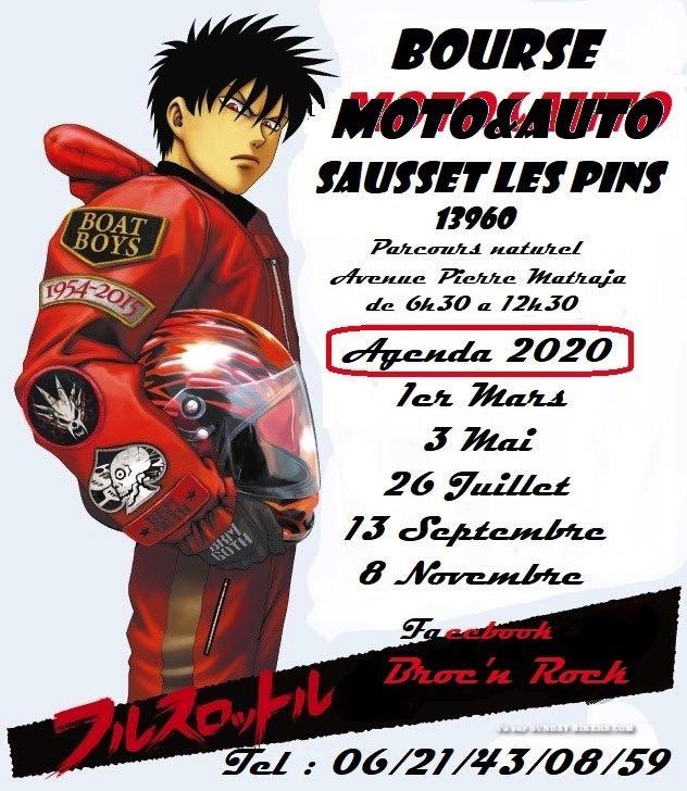 Bourse Auto Moto - Agenda 2020 - Sausset Les Pins (13960) 15759110