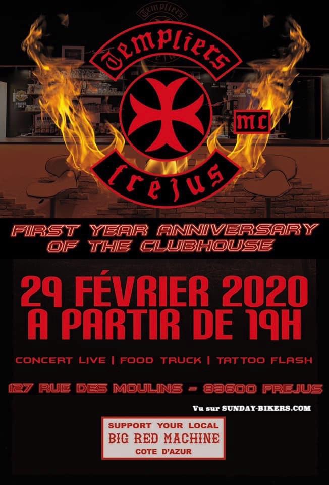 MANIFESTATION - Anniversary The Club House - 29 Février 2020 - Fréjus (83600) 15781410