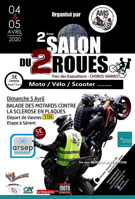 MANIFESTATION  - 2ème Salon du 2 Roues - 4 & 5 Avril 2020 - Parc des Expositions  - Chorus Vannes  15783810
