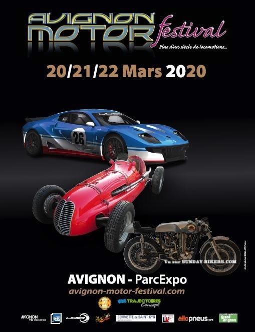 MANIFESTATION - Avignon Motor Festival - 20-21 -22 Mars 2020 - Avignon ( Parc Expo ) 15795310