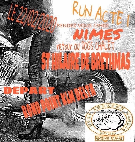 MANIFESTATION - Run Acte 1 - 22 Février 2020 - St Hilaire De Brethams ( 30560 ) 15795410