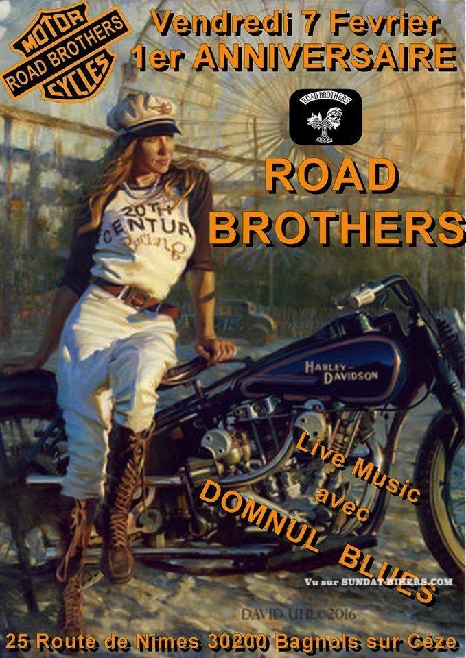 MANIFESTATION - Anniversaire Road Brothers - 7 Février 2020 - Bagnols sur Cèze (30200) 15804010