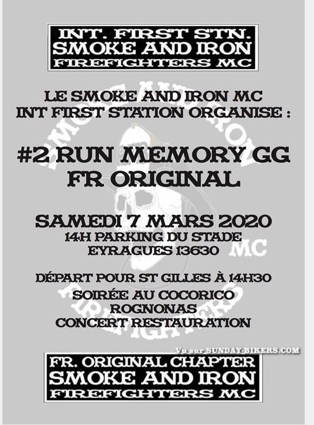 MANIFESTATION - 2ème Run Mémory - Samedi 7 Mars 2020 - Eyragues (13630) 15822810