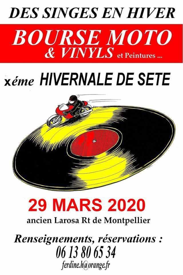 MANIFESTATION - Bourse Moto & Vinyls - 29 Mars 2020 - Séte (34) 15835810
