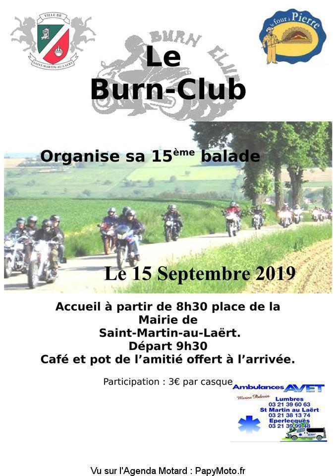 MANIFESTATION - 15ème Balade -Dimanche 15 Septembre 2019 - Saint-Martin-au-Laert 15e-ba10