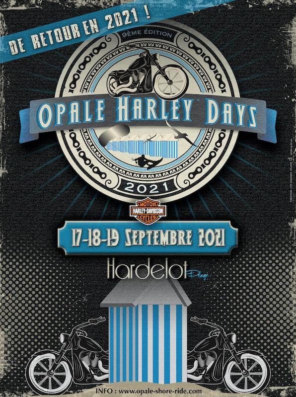 MANIFESTATION - Opale Harley Days - 17 - 18 - & 19 Septembre 2021 - Hardelot (62) 16037110