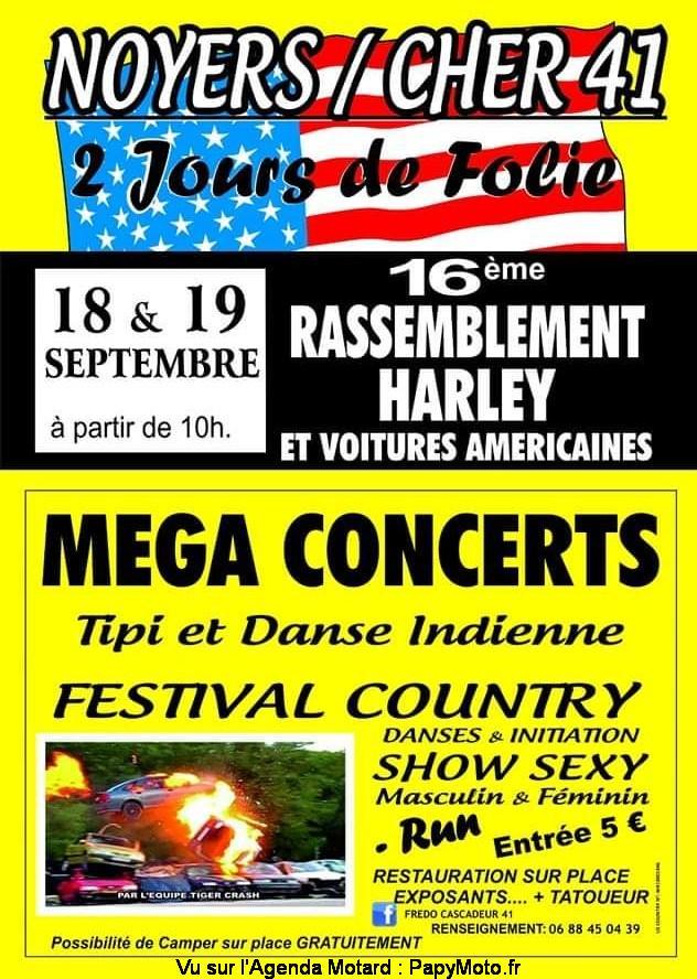 MANIFESTATION - Rassemblement Harley et Voitures Américaines - 18 & 19 Septembre 2021 -Noyers-Cher   16e-ra10