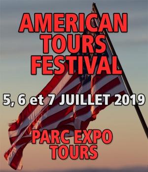 MANIFESTATION - RAPPEL - Américan Tours Festival - 5 - 6 - & 7 Juillet 2019 - Tours (37000) 18605110