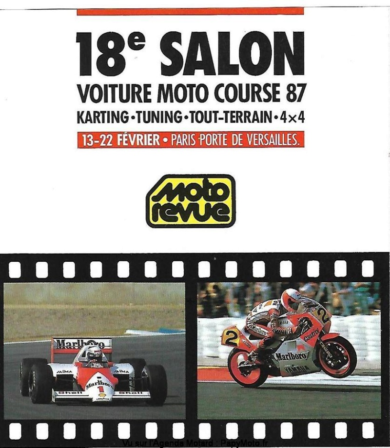 MANIFESTATION - 18eme Salon Voiture Moto de Course - 13 au 22 Février 2020 - Paris -  18e-sa10