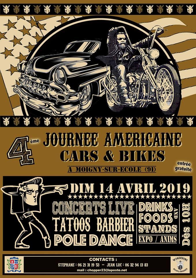 Journée Amèricaine - Dimanche  14 Avril 2019 - Moigny - sur - Ecole (91) 19012210