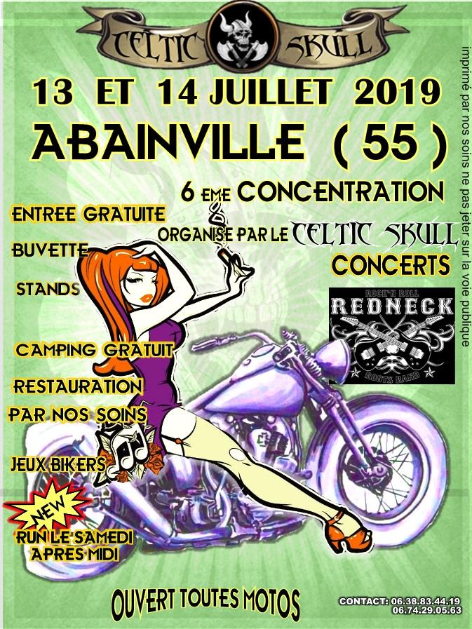 MANIFESTATION - Concentration -  13 & 14 Juillet 2019 - Abainville (55) 19013110