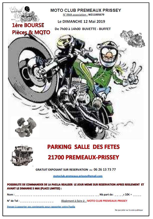 Bourse - Dimanche 12 Mai 2019 - Premeaux- Prissey - (21700) 19032410