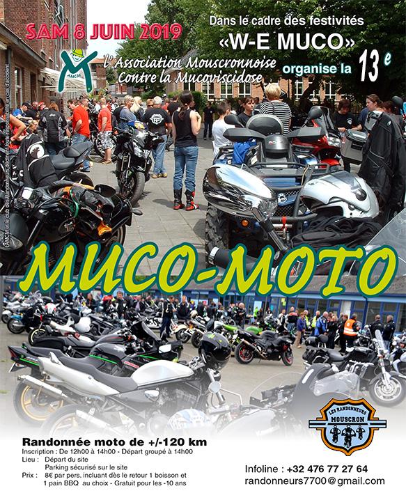 MANIFESTATION - Balade Moto - Samedi 8 Juin 2019 - Mouscron (7700) 19051710