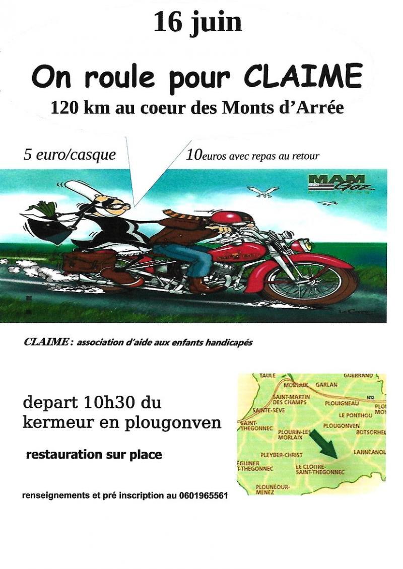 MANIFESTATION - BALADE - 16 Juin 2019 - Plougonven - Finistére (29) 19060410