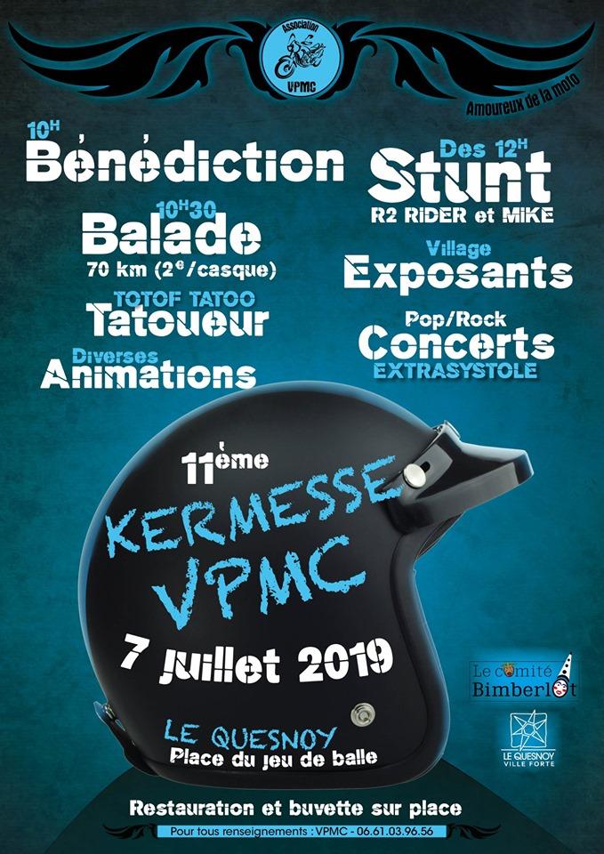 MANIFESTATION - KERMESSE VPMC - 7 Juillet 2019 - Le Quesnoy (59) 19070310