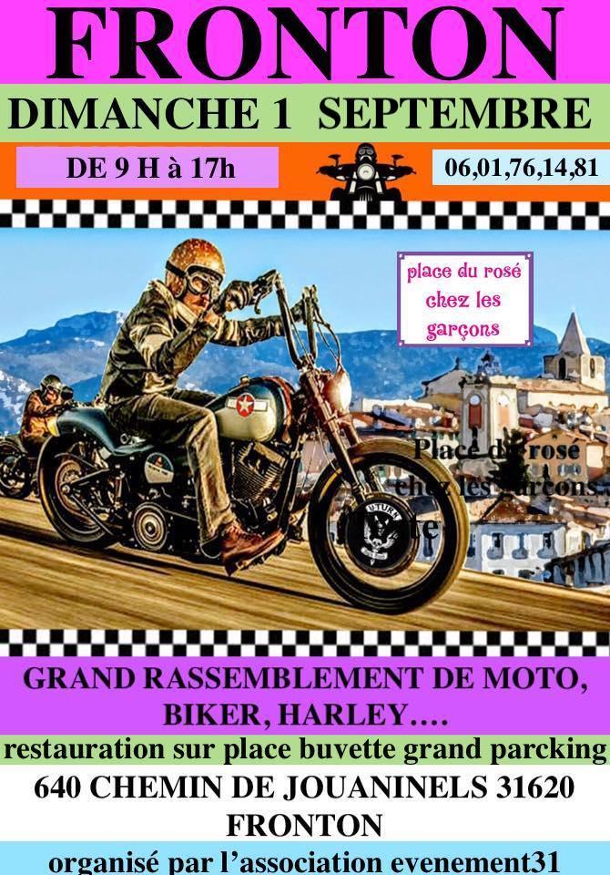 MANIFESTATION - Rassemblement - Dimanche 1er Septembre 2019 - Fronton (31620)  19072210