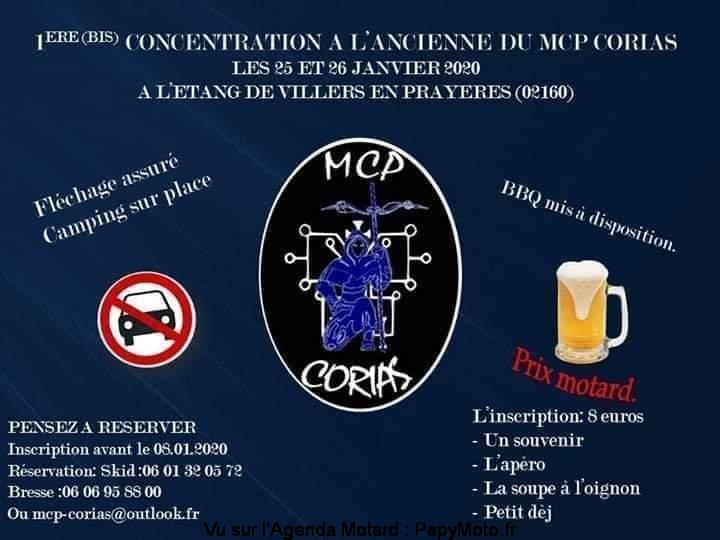 MANIFESTATION - Concentration à L'ancienne - 25 & 26 Janvier 2020 - Villers en Prayeres (02160) 1e-con18