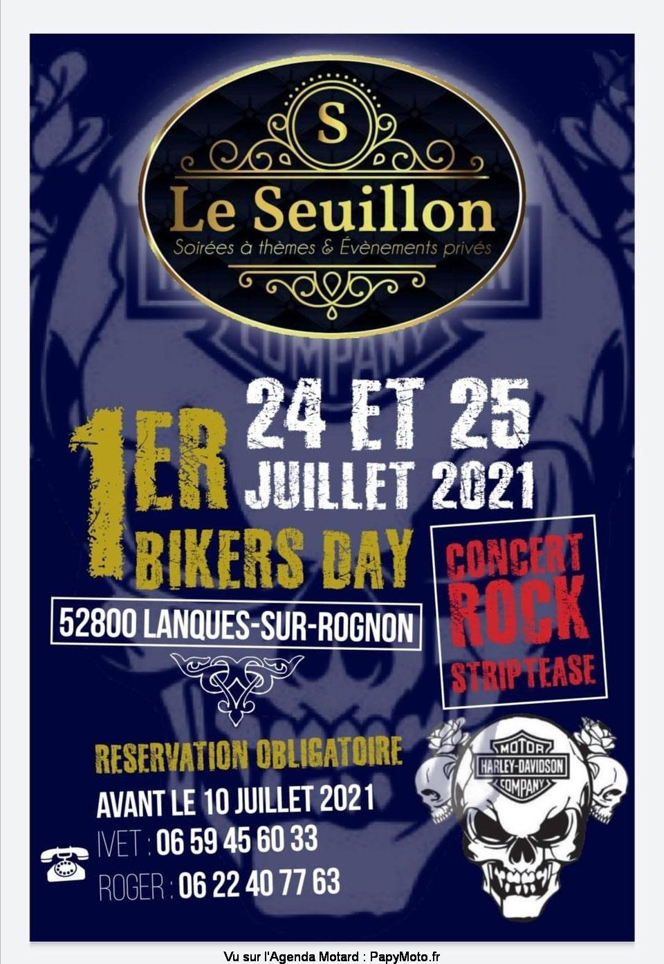 MANIFESTATION - 1er Biker Day - 24 & 25 Juillet 2021 -Lanques-sur-Rognon -(52800) 1er-bi10
