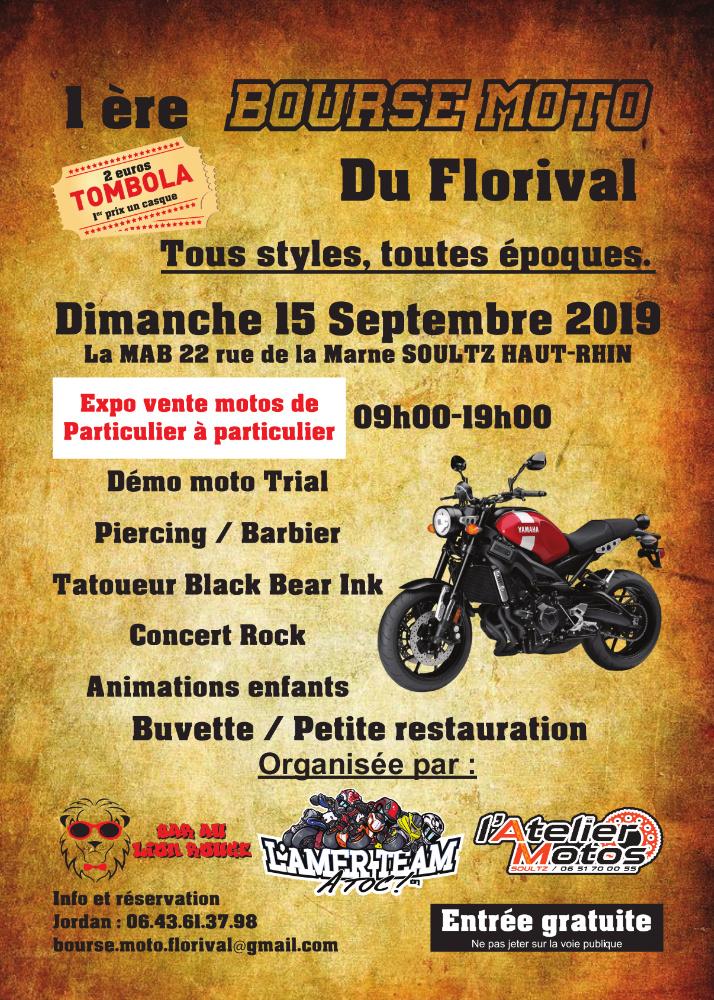MANIFESTATION - Bourse Moto - Dimanche  15 Septembre 2019 - Soultz Haut Rhin 1ere-b10