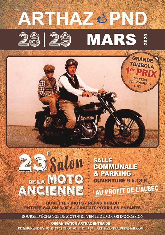 MANIFESTATION - Salon Moto Ancienne - 28 & 29 Mars 2020 - Arthaz Pont Notre Dame -(74 Haute Savoie ) 20021212