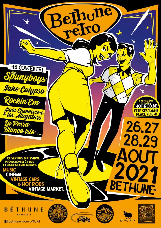 MANIFESTATION MAINTENUE - Béthune Rétro - 26-27-28-29 Aout 2021- Béthune (62) 20154110