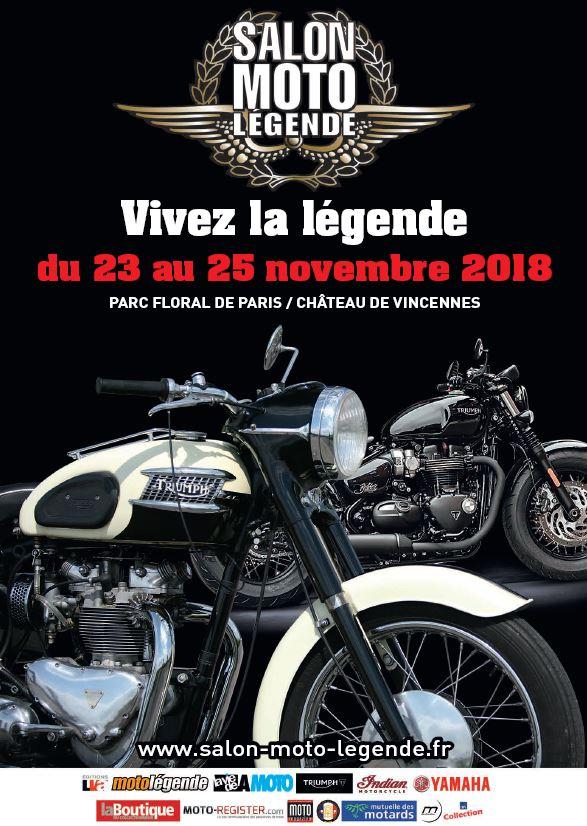 Salon Moto - du 23 au 25 novembre  2018 -Parc Floral de Paris / Chateau de Vincennes  2018sa13