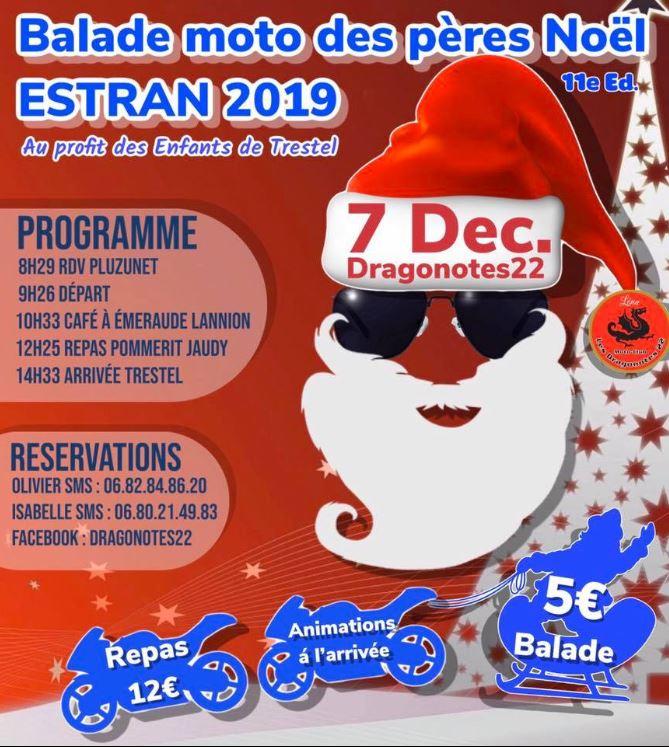 MANIFESTATION - Balade Moto - 7 Décembre 2019 - DRAGONOTES 522° S 2019-112