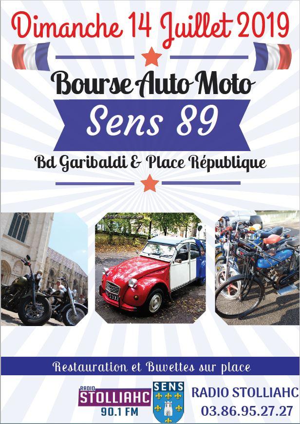 MANIFESTATION - Bourse - 14 Juillet - SENS - (89) 2019af10