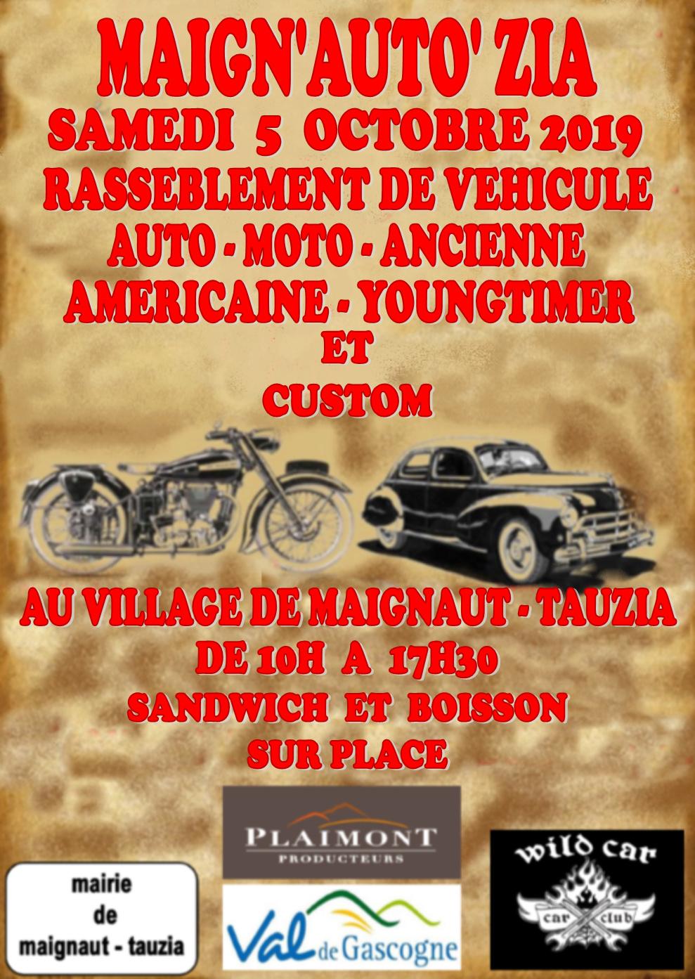 MANIFESTATION - Rassemblement - Samedi 5 Octobre 2019 - Maignaut-Tauzia  2019af12