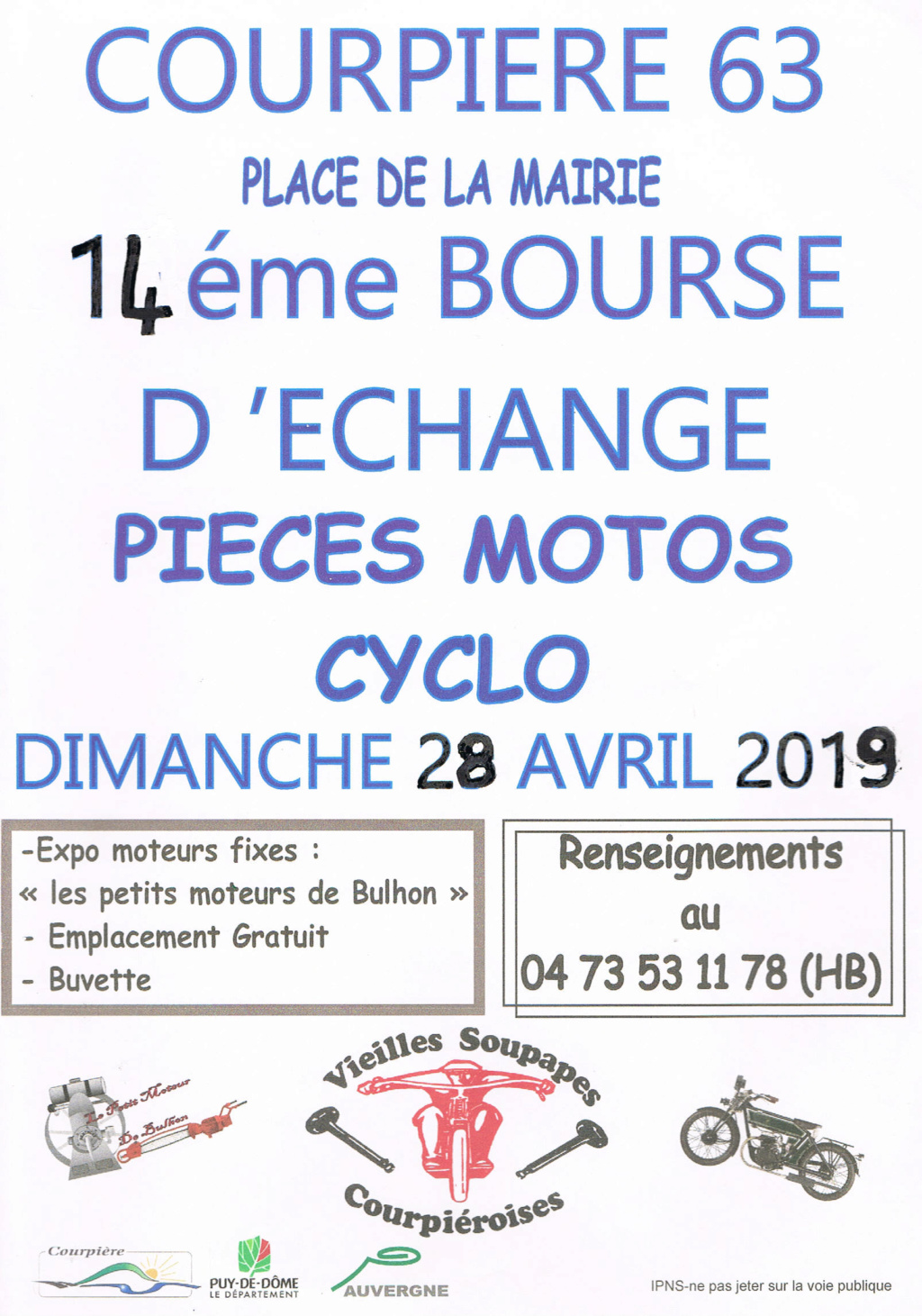 Bourse - Dimanche 28 Avril 2019 - COURPIERE (63) 2019bo16