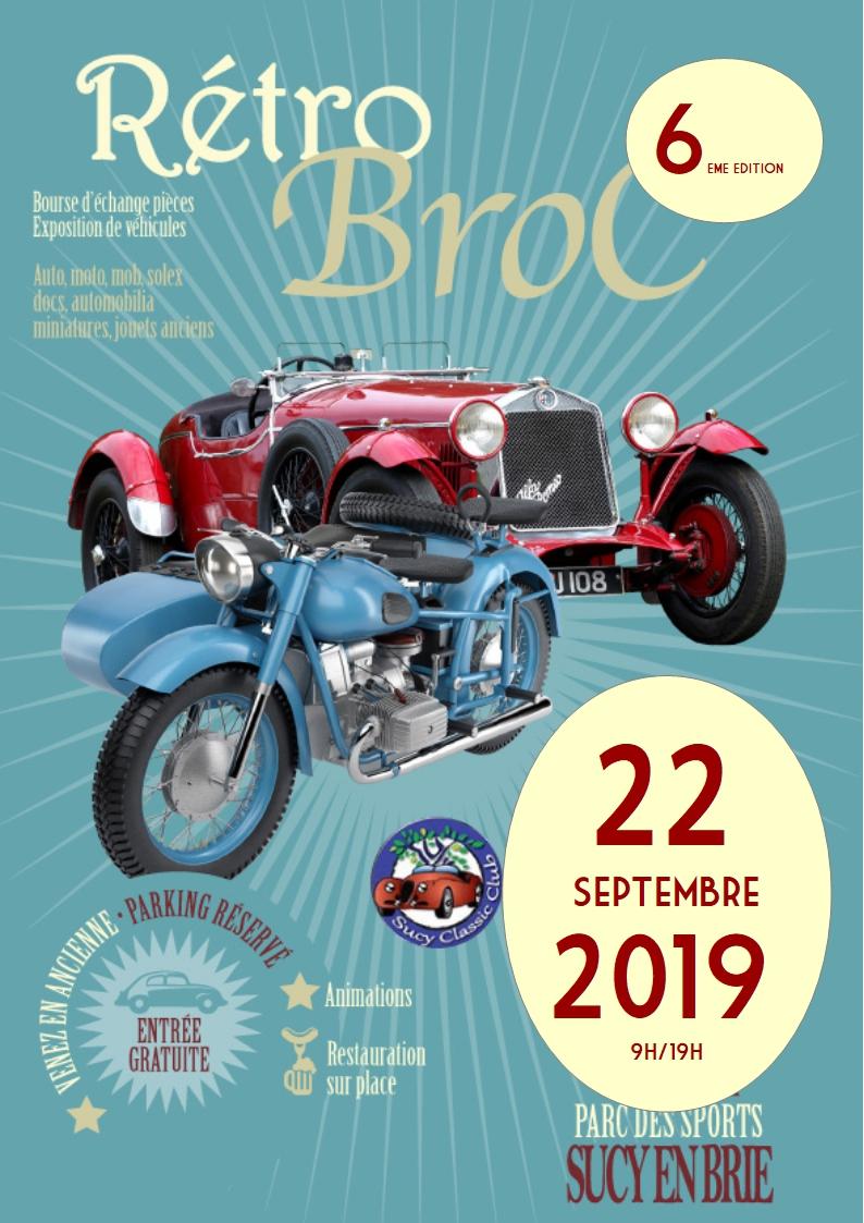 MANIFESTATION - Rétro Broc - 22 Septembre 2019 - Sucy en Brie  2019re10