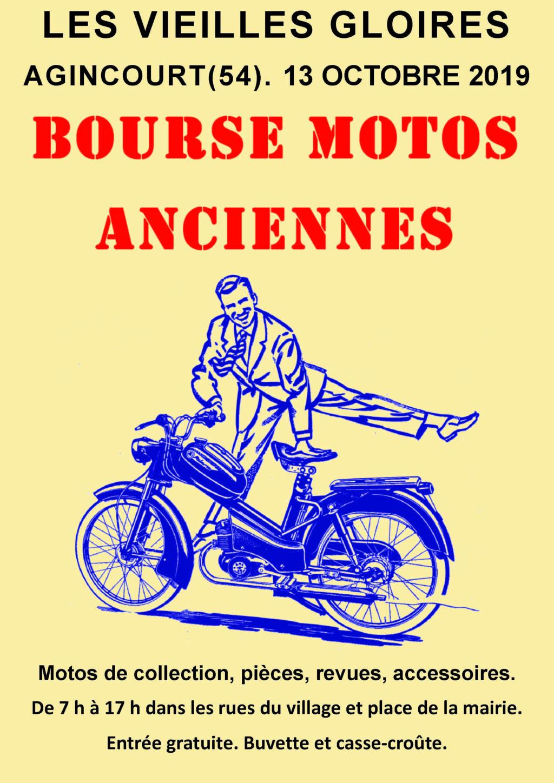 MANIFESTATION - Bourse Motos Anciennes - 13 Octobre 2019 - Agincourt (54) 2019re11