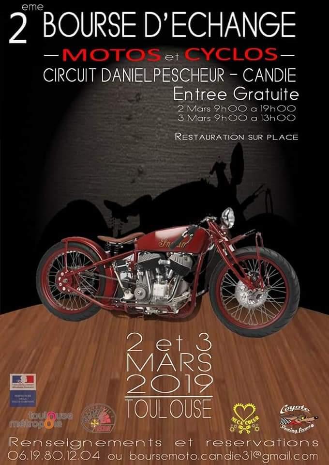 2 éme Bourse D'échange  - 2 & 3 Mars 2019 - Toulouse  2019to10