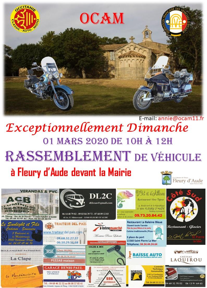 MANIFESTATION - Rassemblement - 1er Mars 2020 - Fleury D'Aude  2020ma10