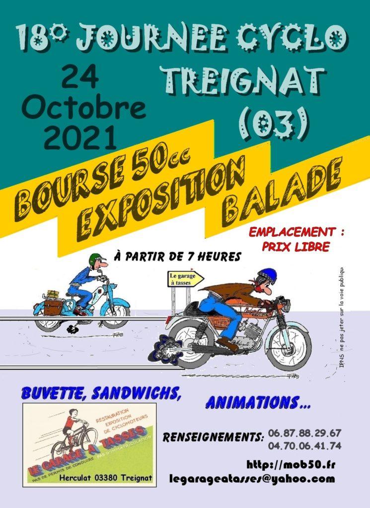 MANIFESTATION - Bourse - Expo & Balade - 24 Octobre 2021 - Treignat (03) 2021-j11