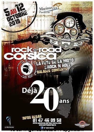 MANIFESTATION - Rock'n'Road Corsica - 5 au 12 Octobre 2019 - CORSE  20e-ro10