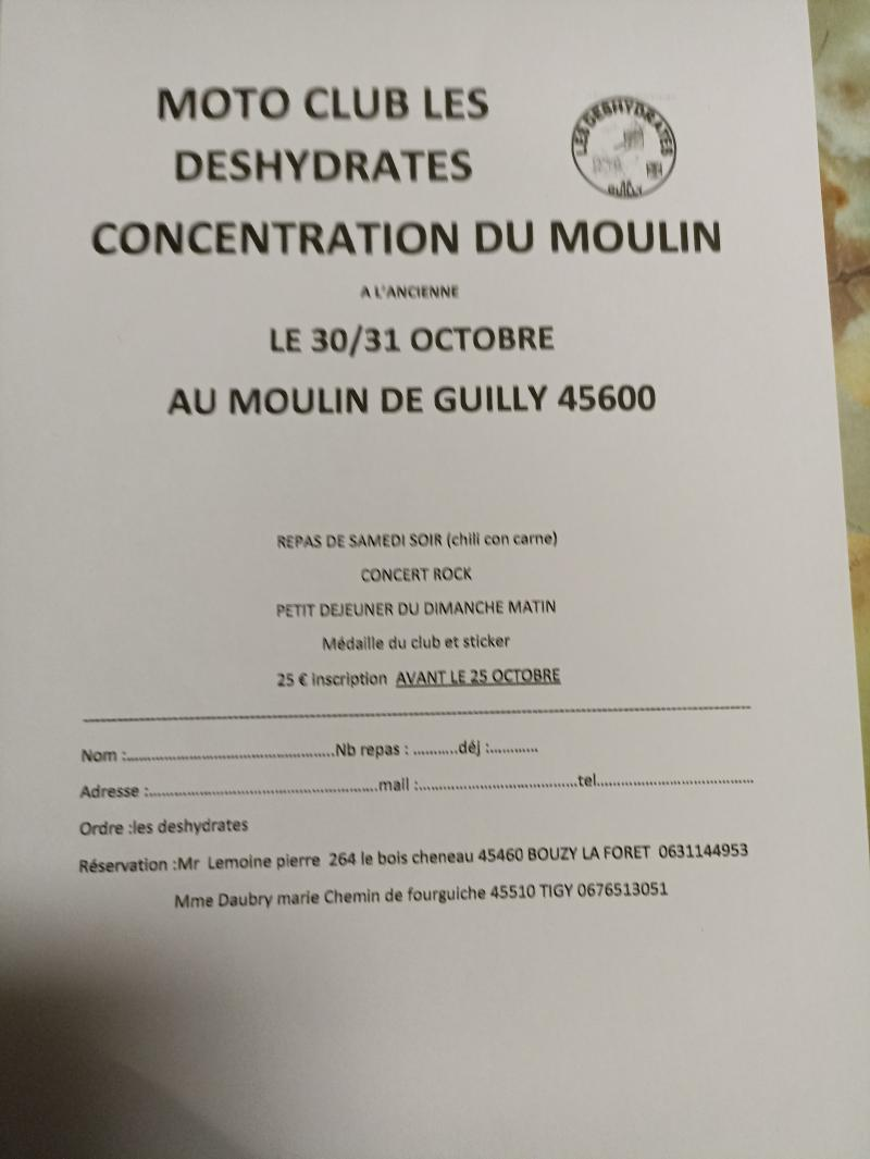 MANIFESTATION - Concentration du Moulin - 30 & 31 Octobre 2021 - Moulin de Guilly (45600) 21082510