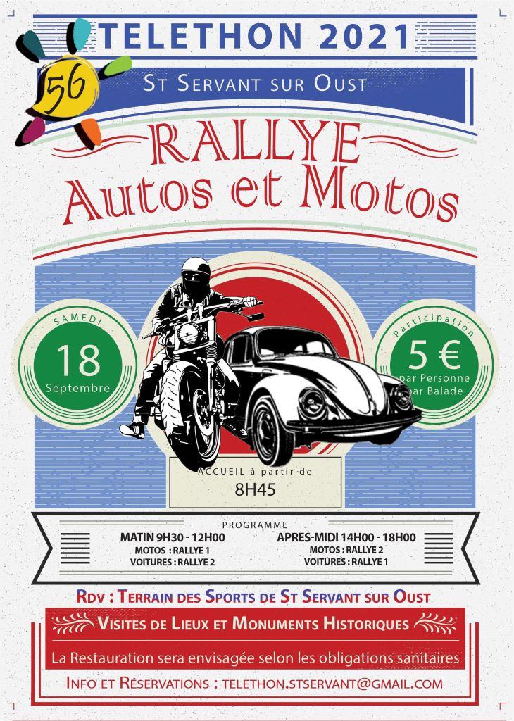 MANIFESTATION - Rallye Autos & Motos - Samedi 18 Septembre 2021 - St Servant sur Oust (56) 21083110