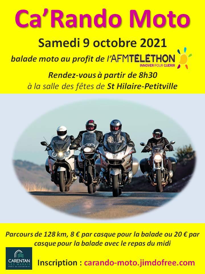 MANIFESTATION - Ca' Rando Moto - Samedi 9 Octobre 2021 - St Hilaire - Petitville 21092310
