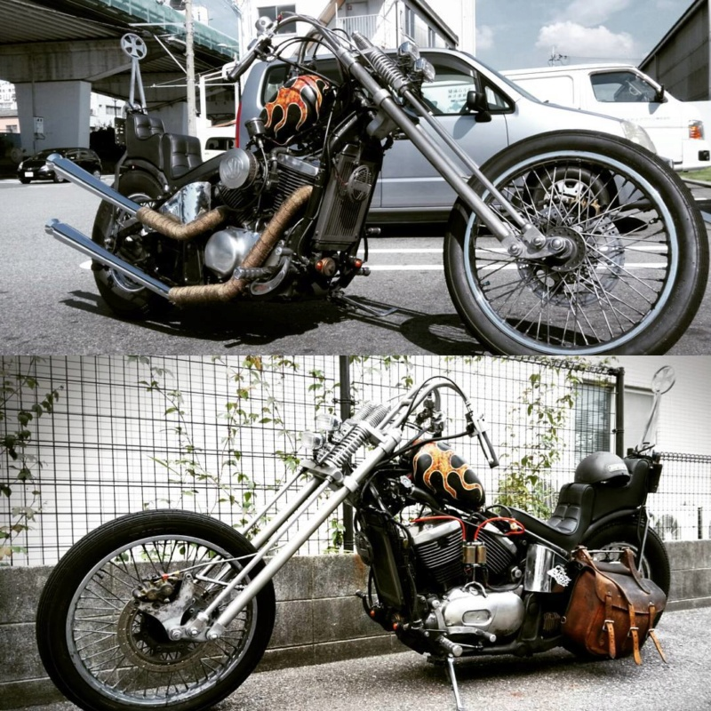 800 - chopper vn 800 vu sur le net  21910110